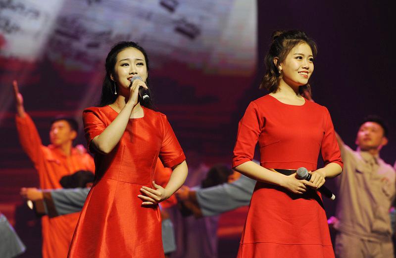 女生二重唱《感谢你》