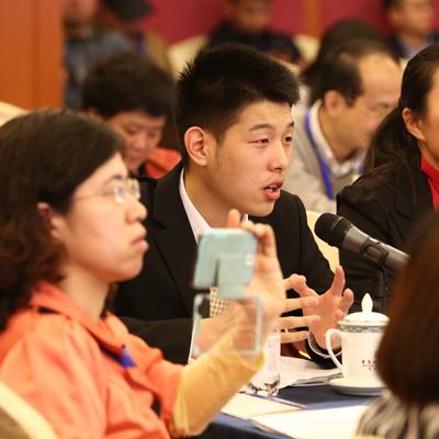 获奖学生代表发言
